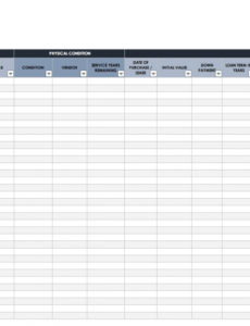 basic inventory sheet template doc example