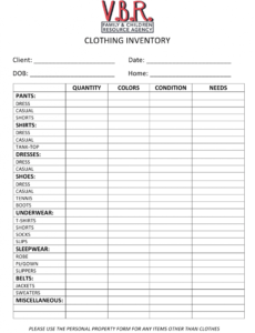 best clothing store inventory spreadsheet template doc