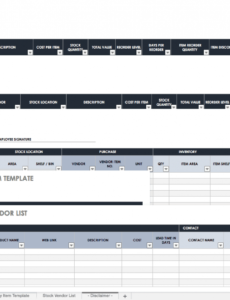 best it hardware inventory template doc