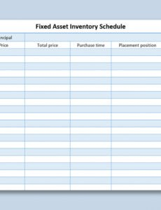 editable fixed asset inventory template word example