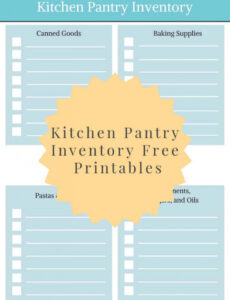 professional canning inventory template pdf sample