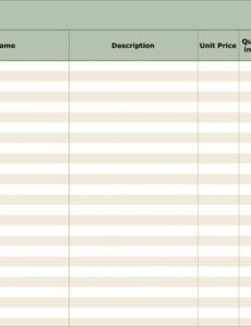 professional inventory reorder template excel example