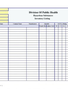 costum medication inventory log template excel example