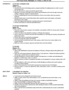 culinary skills inventory template word