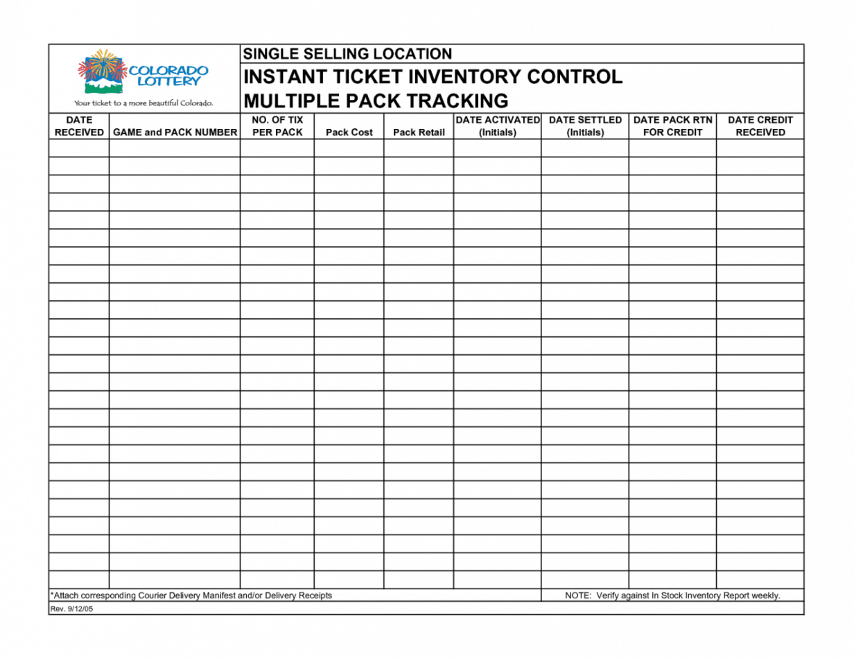 Printable Small Business Inventory Spreadsheet Template Word