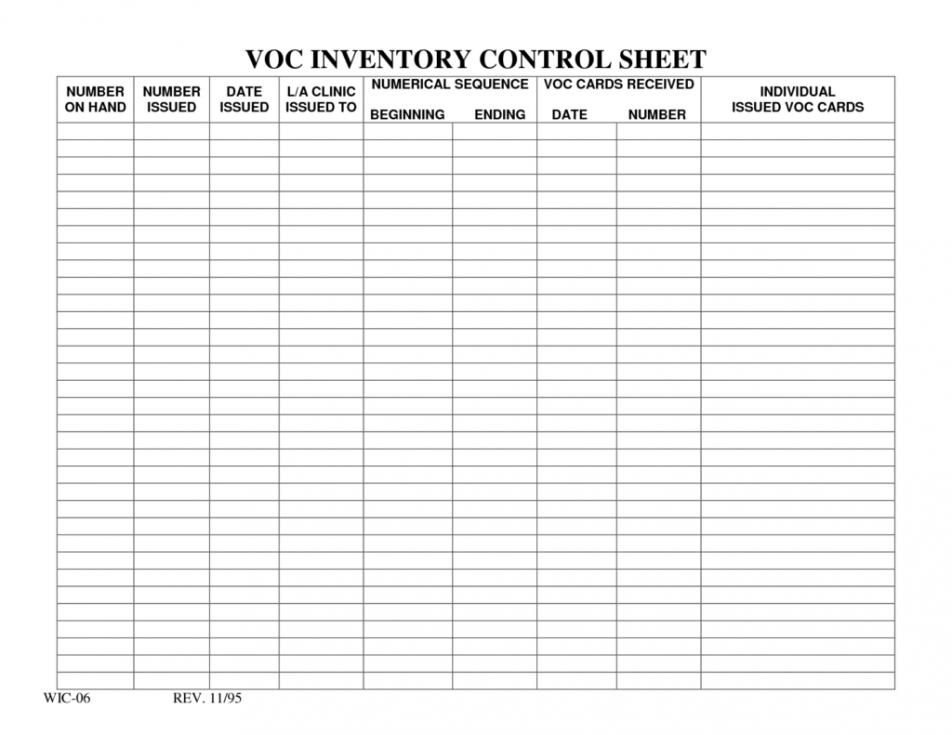 Product Inventory Spreadsheet Template Excel Sample