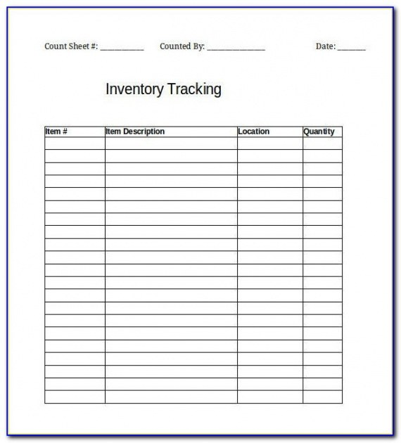 Editable Classroom Inventory Template Word