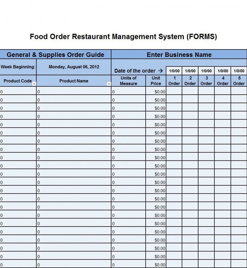 Editable Pantry Inventory List Template Pdf