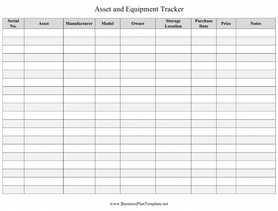 Costum Inventory Tracking Form Template  Example