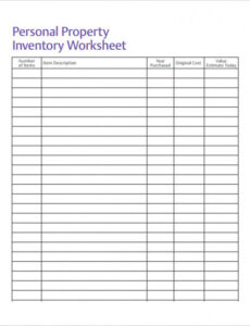 Editable It Application Inventory Template Pdf