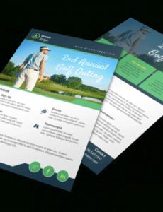 Editable Golf Outing Program Template Doc Example
