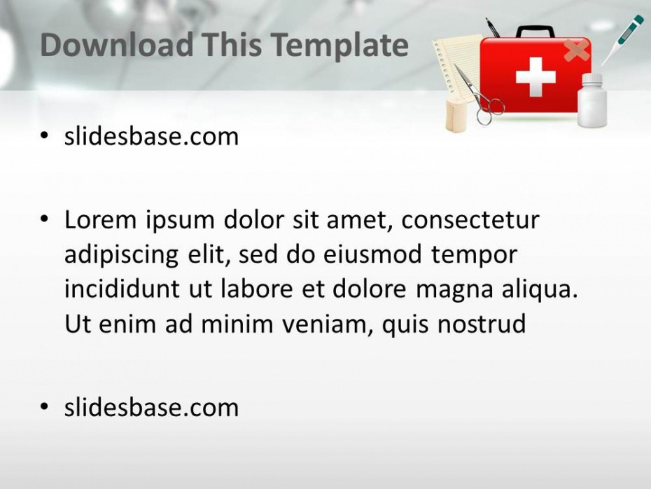 First Aid Program Template Excel Example