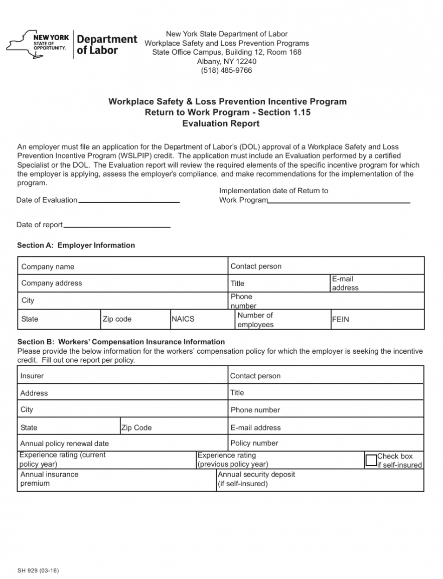 Printable Safety Incentive Program Template Excel