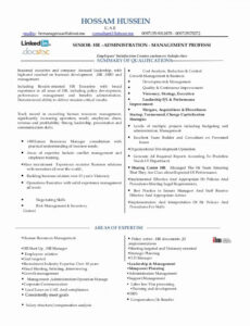 Professional Customizable Human Resource Assistant Sample Resume Word