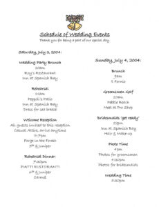 Free Sports Banquet Program Template Excel Sample