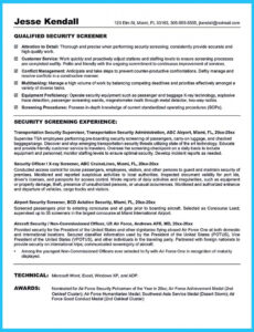 Editable Entry Level Cyber Security Analyst Resume Sample Pdf