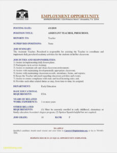 Free Customizable Child Care Assistant Resume Sample Doc