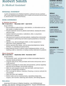 Free  Medical Assistant Resume Objective Sample Word
