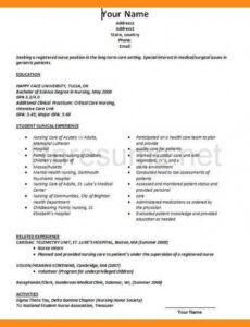 Free Customizable Resume Without Work Experience Sample Word