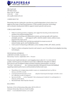 Free Customizable Sample Of Good Objectives In Resume Doc