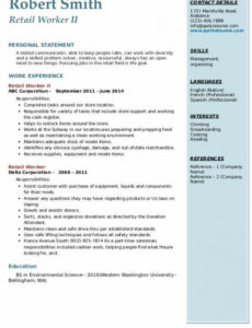 Free  Resume For Older Workers Sample